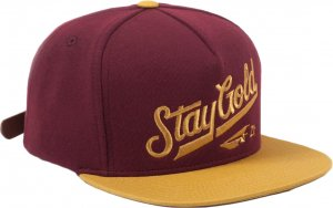 Benny Gold All Star Fleece Strapback Hat -バーガンディー