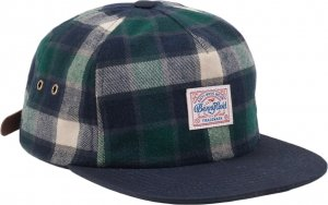 Benny Gold Venture Unstructured Flannel Strapback Hat -グリーン
