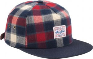 Benny Gold Venture Unstructured Flannel Strapback Hat -レッド