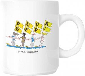 Good Worth x Luke Pelletier Fuck Off Coffee Mug