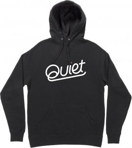 The Quiet Life Quiet Pullover Hood -ブラック