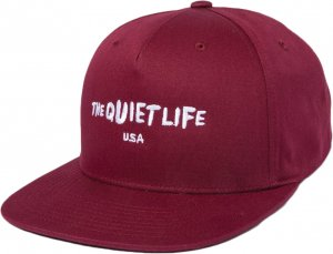 The Quiet Life Marx Snapback -バーガンディー
