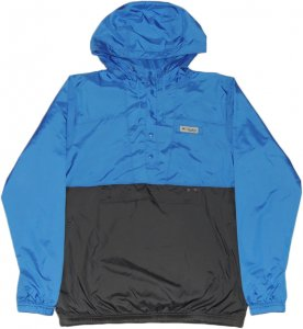 Columbia PFG Coastal Mist Windbreaker -ブルー・ブラック