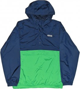 Columbia PFG Coastal Mist Windbreaker -ネイビー・グリーン