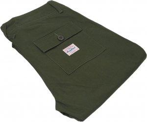 Benny Gold Off Duty Military Pants -オリーブ