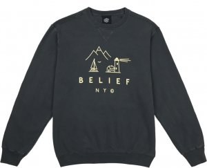 Belief NYC Country Crewneck -コール