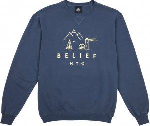 Belief NYC Country Crewneck -デニム