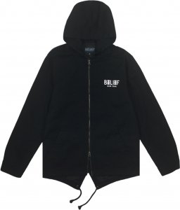 Belief NYC City Block Fishtail Jacket -ブラック