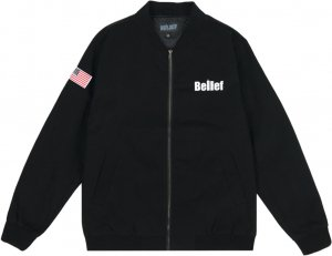 Belief NYC World Trade Jacket -ブラック