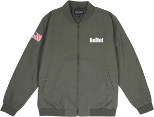 Belief NYC World Trade Jacket -オリーブ