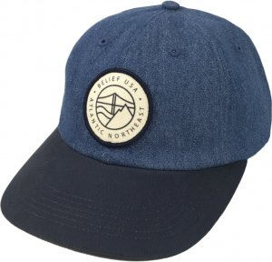 Belief NYC Atlantic 6-Panel Cap -デニム