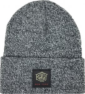 Belief NYC Triboro Beanie -ゼブラマール