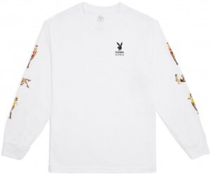 Good Worth & Co x Playboy Playmate Long Sleeve Tee -ホワイト