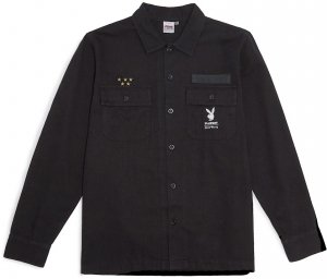 Good Worth & Co X Playboy  Souvenir Jacket -ブラック
