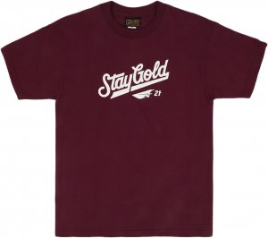 Benny Gold All Star Tee -バーガンディー