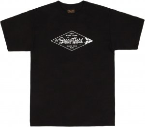 Benny Gold Diamond Label Tee -ブラック