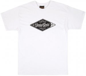 Benny Gold Diamond Label Tee -ホワイト