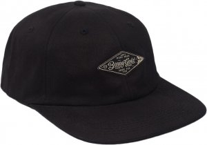 Benny Gold Diamond Label Twill Polo Hat -ブラック
