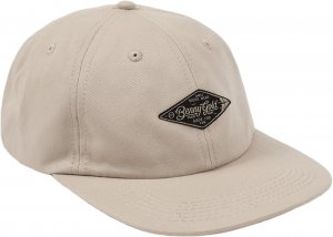 Benny Gold Diamond Label Twill Polo Hat -カーキ