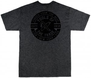 LICK NYC Tools Of The Trade Tee -チャコールヘザー