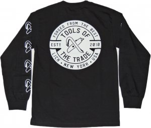 LICK NYC Tools Of The Trade Long Sleeve Tee -ブラック