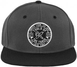 LICK NYC Tools Of The Trade Snapback -チャコール