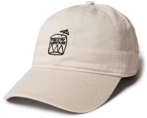 The Quiet Life Happy Place Dad Hat -タン