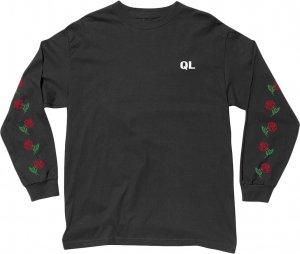 The Quiet Life Rose Long Sleeve Tee -ブラック