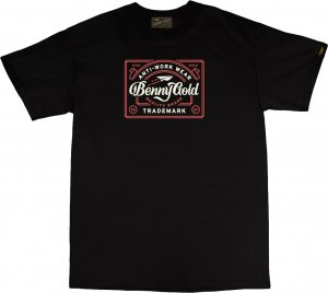 <img class='new_mark_img1' src='https://img.shop-pro.jp/img/new/icons20.gif' style='border:none;display:inline;margin:0px;padding:0px;width:auto;' />Benny Gold Antiwork Label Tee -ブラック