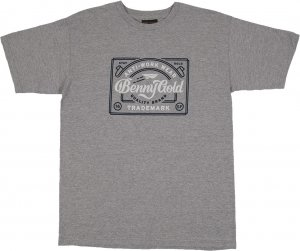 <img class='new_mark_img1' src='//img.shop-pro.jp/img/new/icons20.gif' style='border:none;display:inline;margin:0px;padding:0px;width:auto;' />Benny Gold Antiwork Label Tee -グレー