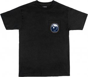 LICK NYC NY Masters Pocket Tee -ブラック