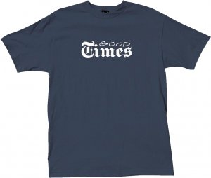 <img class='new_mark_img1' src='https://img.shop-pro.jp/img/new/icons20.gif' style='border:none;display:inline;margin:0px;padding:0px;width:auto;' />The Quiet Life Good Times Tee -ネイビー