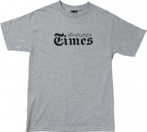 The Quiet Life Good Times Tee -グレー