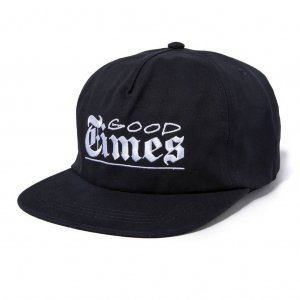 The Quiet Life Good Times Relaxed Snapback -ネイビー