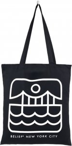 Belief NYC City Atlantic Tote -ブラック