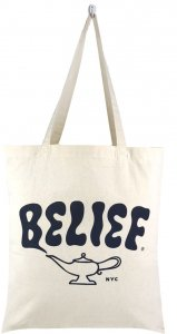 Belief NYC City Lamp Tote -ナチュラル