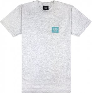 Belief NYC Box Logo Tee -アッシュ