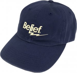 Belief NYC Bolt 6-Panel Cap -ネイビー