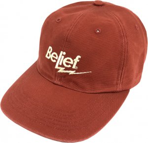 Belief NYC Bolt 6-Panel Cap -ブリック