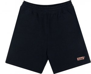 Belief NYC Box Logo Sweat Shorts -ブラック