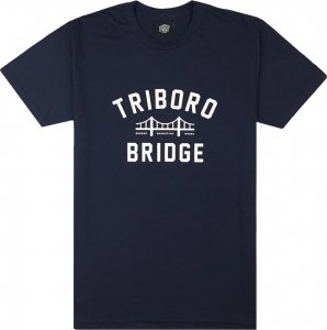 Belief NYC Bridge Tee -ネイビー