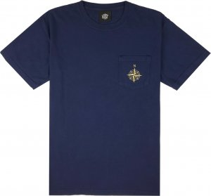 Belief NYC Compass Pocket Tee -ネイビー