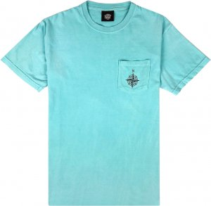 Belief NYC Compass Pocket Tee -チャーキーミント