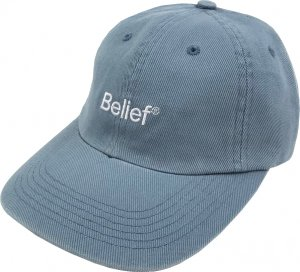 Belief NYC Logo 6-Panel Cap -ポスタル
