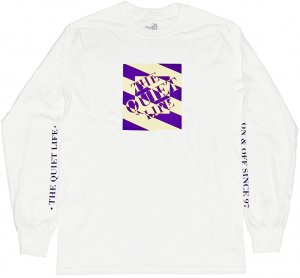 <img class='new_mark_img1' src='//img.shop-pro.jp/img/new/icons5.gif' style='border:none;display:inline;margin:0px;padding:0px;width:auto;' />The Quiet Life Optical Long Sleeve Tee -ホワイト