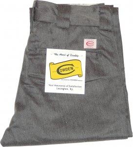 COWDEN Slim Work Pants -グレー