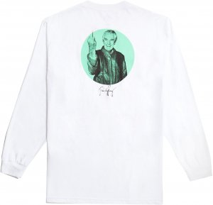 Good Worth & Co High Good Bye Long Sleeve Tee -ホワイト