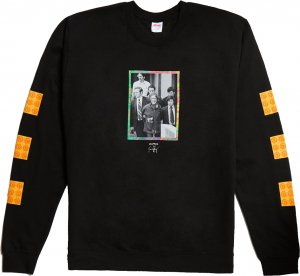 Good Worth & Co Escort Crewneck -ブラック