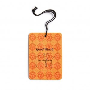 Good Worth & Co Orange Sunshine Air Freshner