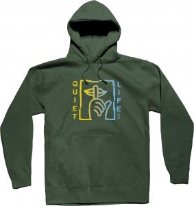 The Quiet Life Shatter Pullover Hood -グリーン
